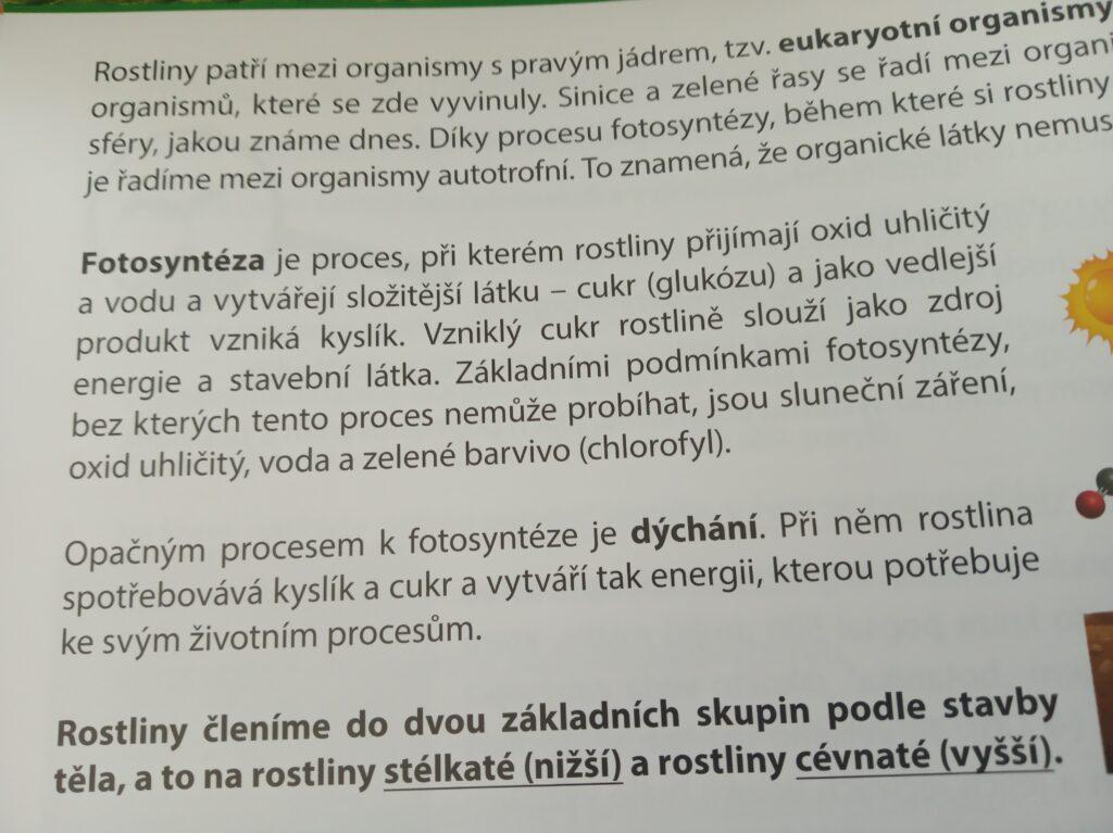 Fotosyntéza - děj